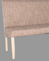 Sonoma tölgy-világosbarna zsákszövet