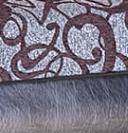 Fekete-barna minta